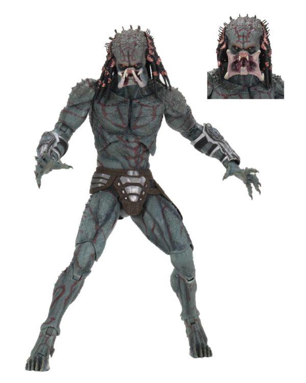 DELUXE ARMORED ASSASSIN PREDATOR FIGURINE PREDATOR 2018 NECA 30 CM (1bis) 634482515792 kingdom-figurine.fr