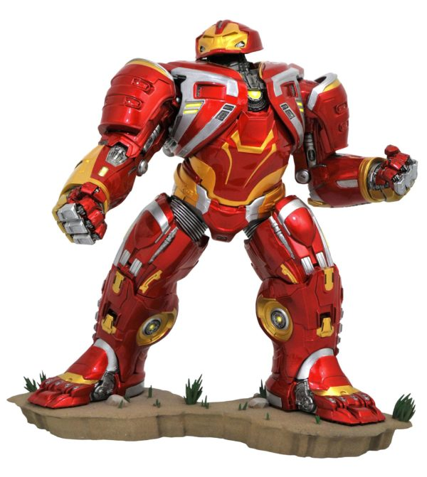 DELUXE HULKBUSTER MK2 STATUE AVENGERS INFINITY WAR MARVEL MOVIE GALLERY DIAMOND SELECT 25 CM (1bis) 699788830277 kingdom-figurine.fr