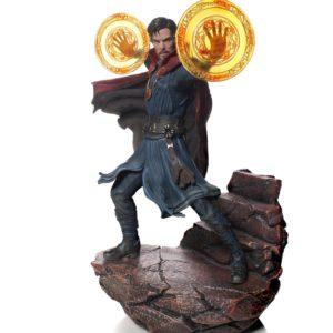 DOCTOR STRANGE STATUE AVENGERS INFINITY WAR IRON STUDIOS 21 CM (1) 751320773470 kingdom-figurine.fr