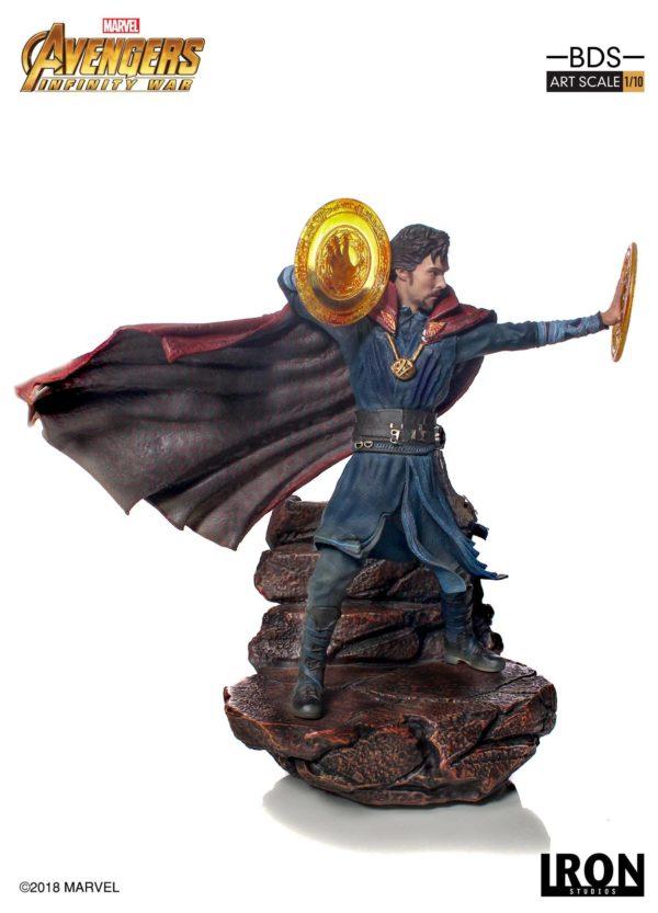 DOCTOR STRANGE STATUE AVENGERS INFINITY WAR IRON STUDIOS 21 CM (2) 751320773470 kingdom-figurine.fr