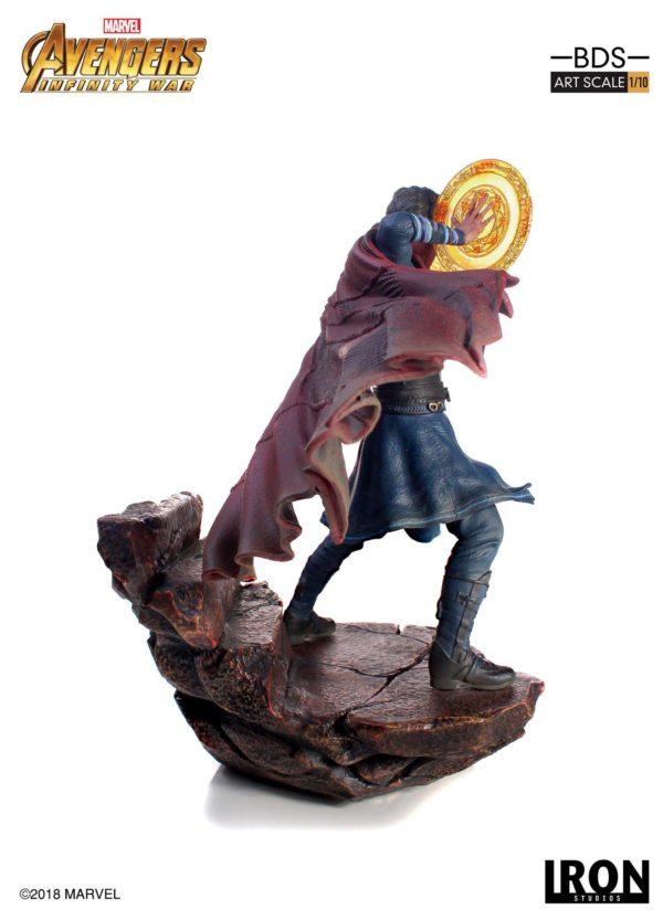 DOCTOR STRANGE STATUE AVENGERS INFINITY WAR IRON STUDIOS 21 CM (3) 751320773470 kingdom-figurine.fr