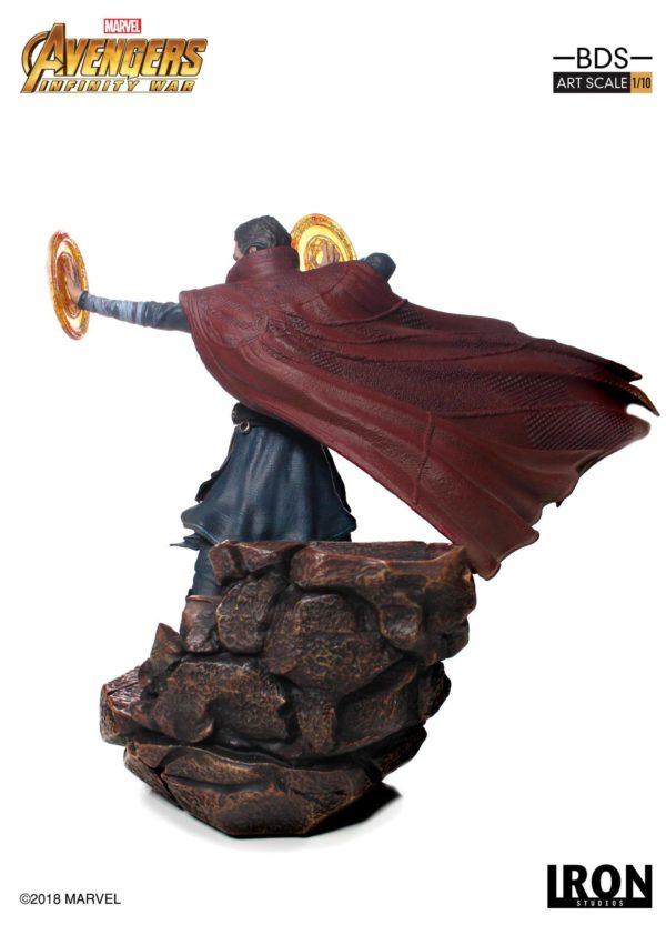 DOCTOR STRANGE STATUE AVENGERS INFINITY WAR IRON STUDIOS 21 CM (4) 751320773470 kingdom-figurine.fr