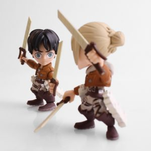 EREN JAEGER & ANNIE LEONHART (FEAR EDITION) PACK 2 FIGURINES ATTACK ON TITAN SDDC 2017 LOYAL SUBJECTS 8 CM (2) 5397633621139916 kingdom-figurine.fr