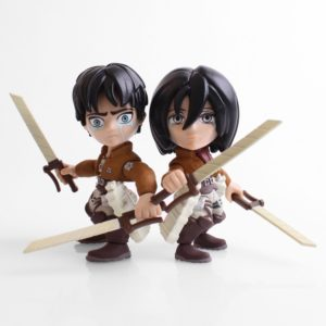EREN & MIKASA (CRYING EDITION) PACK 2 FIGURINES ATTACK ON TITAN SDDC 2017 LOYAL SUBJECTS 8 CM (1) 7654669287136956 kingdom-figurine.fr