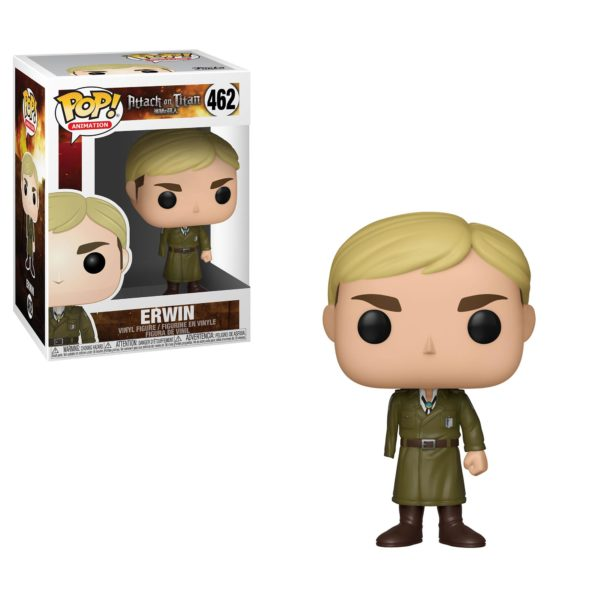 ERWIN FIGURINE L'ATTAQUE DES TITANS POP ANIMATION 462 FUNKO 889698356800 kingdom-figurine.fr