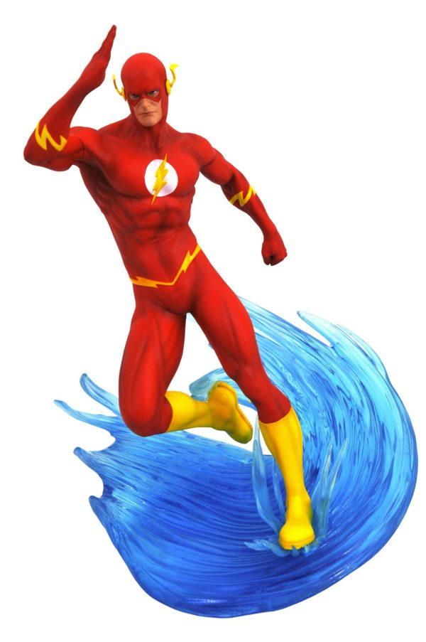 FLASH STATUE DC COMIC GALLERY DIAMOND SELECT TOYS 23 CM (1bis) 699788828823 kingdom-figurine.fr