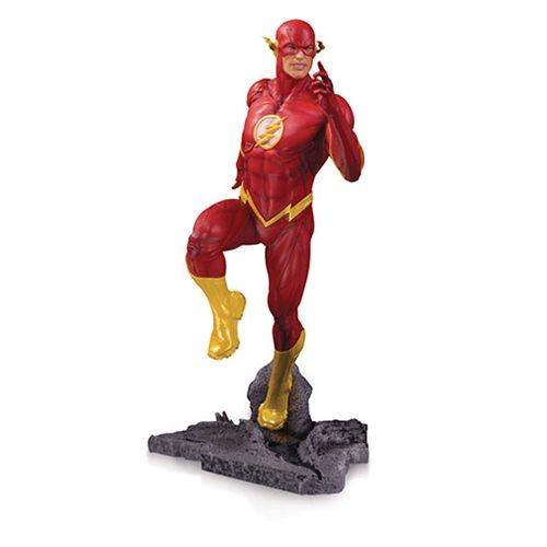 FLASH STATUE DC CORE DC COLLECTIBLES 23 CM (1) 761941355375 kingdom-figurine.fr