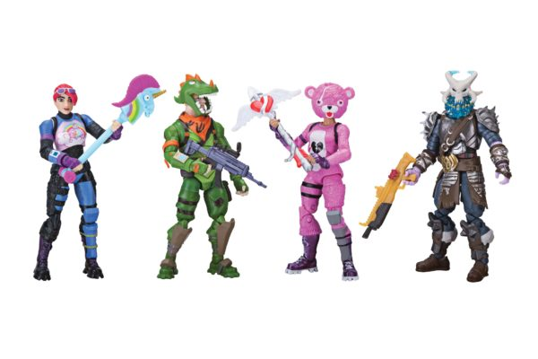 FORTNITE PACK 4 FIGURINES SQUAD MODE JAZWARES 10 CM (1) 191726006237 kingdom-figurine.fr
