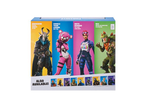 FORTNITE PACK 4 FIGURINES SQUAD MODE JAZWARES 10 CM (3) 191726006237 kingdom-figurine.fr