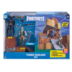 FORTNITE PLAYSET TURBO BUILDER AVEC FIGURINES JONESY & RAVEN 4 (8) 191726006404 kingdom-figurine.fr