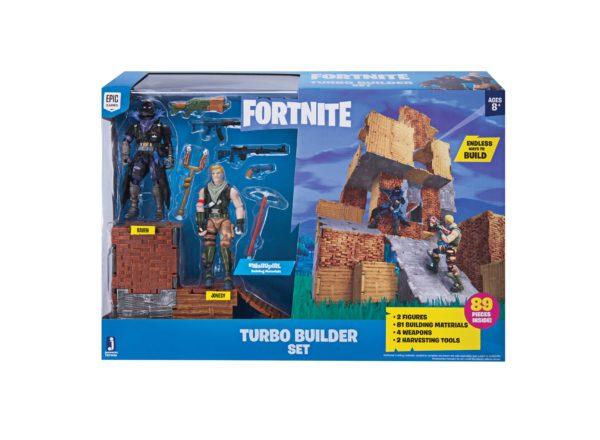 FORTNITE PLAYSET TURBO BUILDER AVEC FIGURINES JONESY & RAVEN 4 (8) 191726006404 kingdom-figurine.fr
