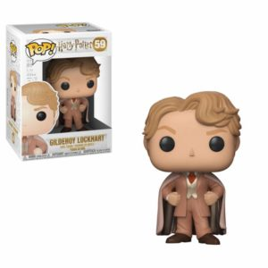 GILDEROY LOKHART FIGURINE HARRY POTTER POP 59 FUNKO (1) 889698300315 kingdom-figurine.fr