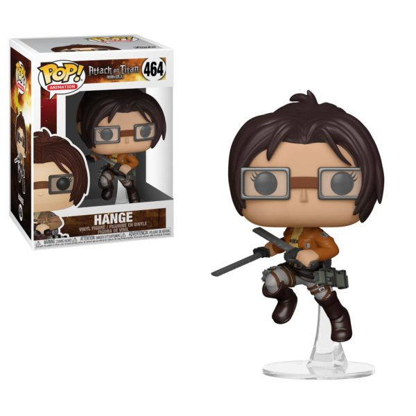 HANGE FIGURINE L'ATTAQUE DES TITANS POP ANIMATION 462 FUNKO 889698356794 kingdom-figurine.fr
