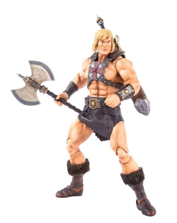 HE-MAN FIGURINE 1-6 MASTERS OF THE UNIVERSE MONDO 30 CM (10) 850972006605 kingdom-figurine.fr
