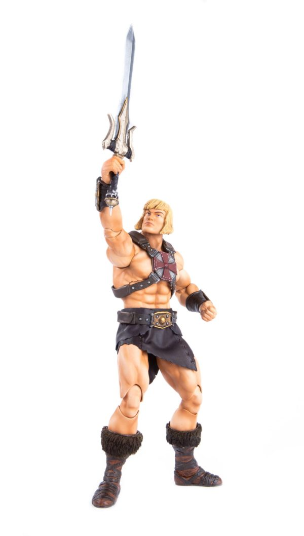 HE-MAN FIGURINE 1-6 MASTERS OF THE UNIVERSE MONDO 30 CM (13) 850972006605 kingdom-figurine.fr