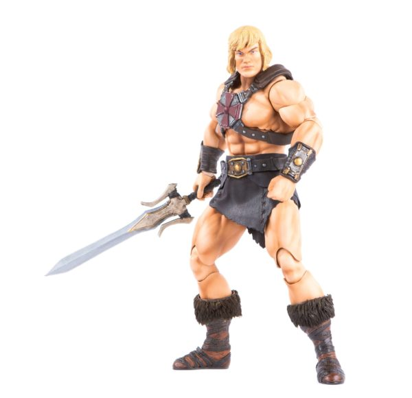 HE-MAN FIGURINE 1-6 MASTERS OF THE UNIVERSE MONDO 30 CM (14) 850972006605 kingdom-figurine.fr