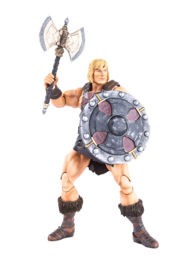 HE-MAN FIGURINE 1-6 MASTERS OF THE UNIVERSE MONDO 30 CM (16) 850972006605 kingdom-figurine.fr