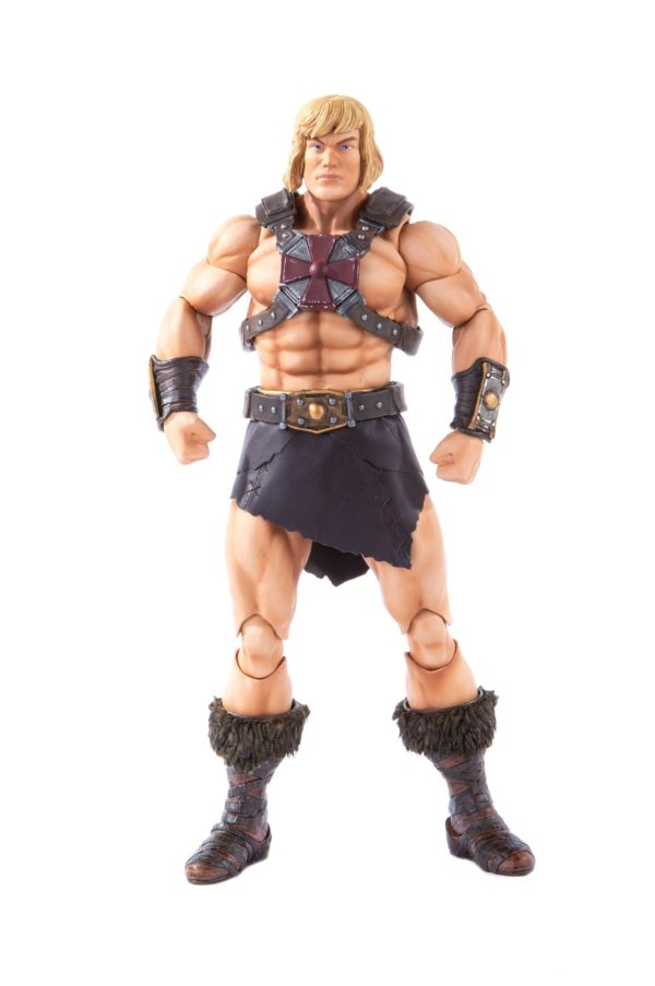 HE-MAN FIGURINE 1-6 MASTERS OF THE UNIVERSE MONDO 30 CM (1bis) 850972006605 kingdom-figurine.fr