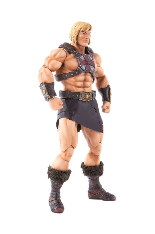 HE-MAN FIGURINE 1-6 MASTERS OF THE UNIVERSE MONDO 30 CM (2) 850972006605 kingdom-figurine.fr