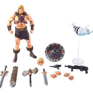 HE-MAN FIGURINE 1-6 MASTERS OF THE UNIVERSE MONDO 30 CM (9) 850972006605 kingdom-figurine.fr
