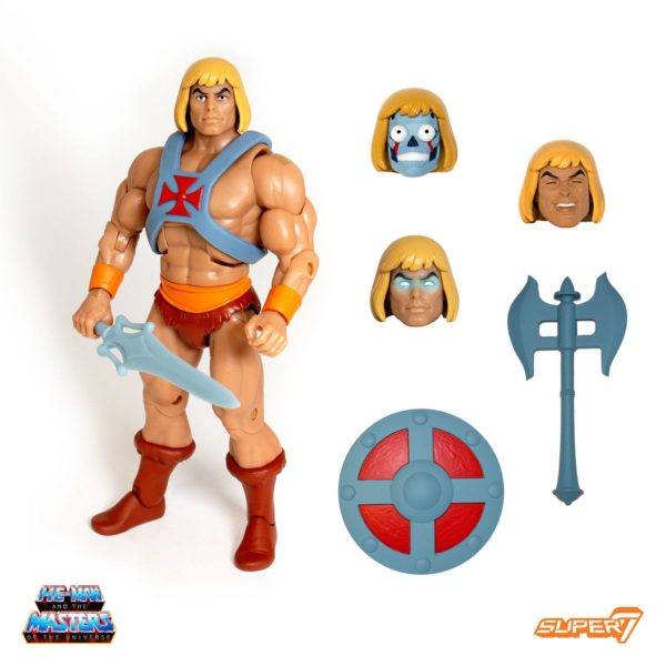 HE-MAN FIGURINE MASTERS OF THE UNIVERSE ULTIMATES CLUB GRAYSKULL SUPER7 18 CM SUP7-MOTU-CGU-HM kingdom-figurine.fr