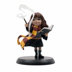HERMIONES'S FIRST SPELL FIGURINE HARRY POTTER Q-FIG 10 CM (0) 812095024331 kingdom-figurine.fr