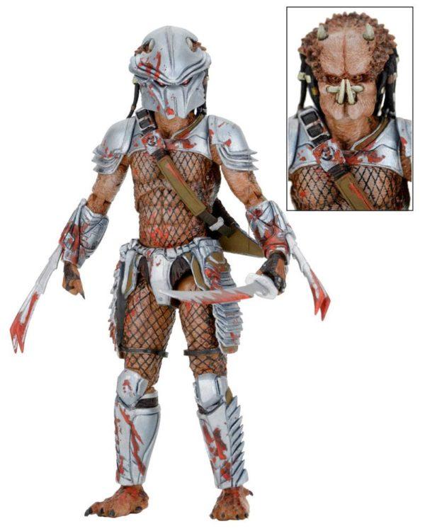 HORNEAD PREDATOR FIGURINE PREDATOR SERIES 18 NECA 20 CM (3) 634482515457 kingdom-figurine.fr