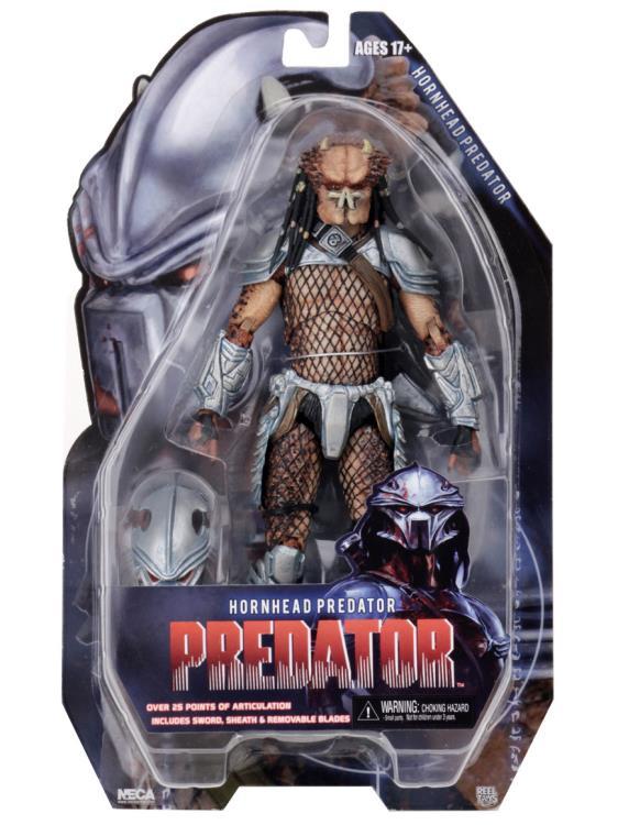 HORNEAD PREDATOR FIGURINE PREDATOR SERIES 18 NECA 20 CM (6) 634482515457 kingdom-figurine.fr