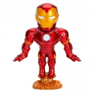 IRON MAN FIGURINE MARVEL AVENGERS METALFIGS M501 JADA 6 CM (1) 801310843154(I) kingdom-figurine.fr