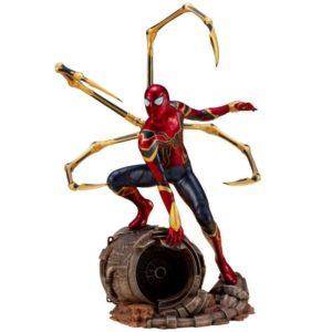 IRON SPIDER STATUE ARTFX+ 1-10 AVENGERS INFINITY WAR KOTOBUKIYA 28 CM (1) 4934054007134 kingdom-figurine.fr
