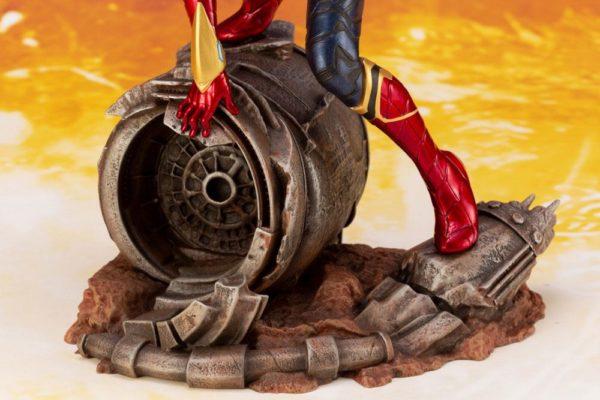 IRON SPIDER STATUE ARTFX+ 1-10 AVENGERS INFINITY WAR KOTOBUKIYA 28 CM (13) 4934054007134 kingdom-figurine.fr