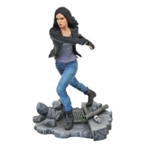 JESSICA JONES STATUE NETFLIX DEFENDERS MARVEL TV GALLERY DIAMOND SELECT TOYS 23 CM (1) 699788826577 kingdom-figurine.fr