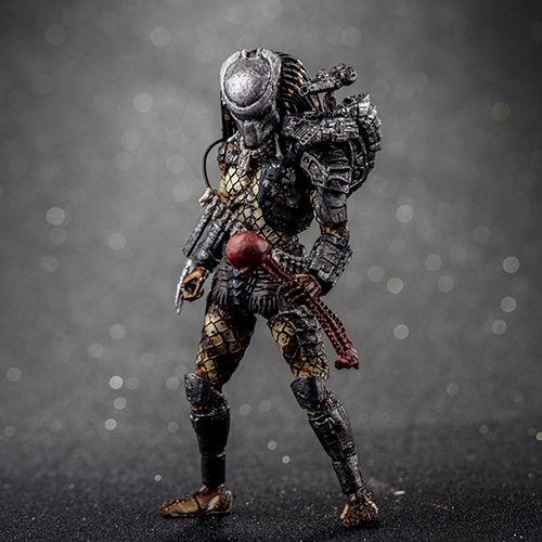 JUNGLE PREDATOR PREVIEWS EXCLUSIVE FIGURINE 1-18 PREDATOR 2 HIYA TOYS 11 CM (1) 6957534200403 kingdom-figurine.fr