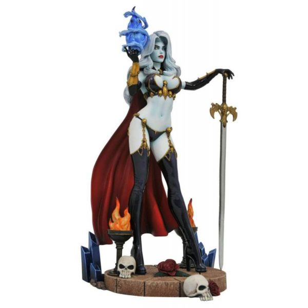 LADY DEATH IV STATUE FEMME FATALES DIAMOND SELECT TOYS 23 CM (1) 699788832981 kingdom-figurine.fr