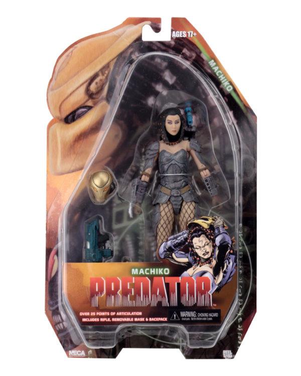 MACHIKO PREDATOR FIGURINE PREDATOR SERIES 18 NECA 16 CM (8) 634482515440 kingdom-figurine.fr