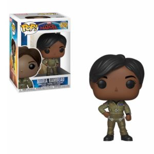 MARIA RAMBEAU FIGURINE CAPTAIN MARVEL POP 430 FUNKO 889698375856 kingdom-figurine.fr