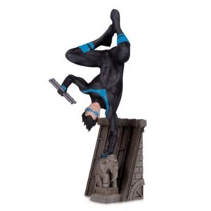 NIGHTWING STATUE BAT-FAMILY (PARTIE 4 SUR 5) DC COLLECTIBLES 17 CM (1) 761941356471 kingdom-figurine.fr