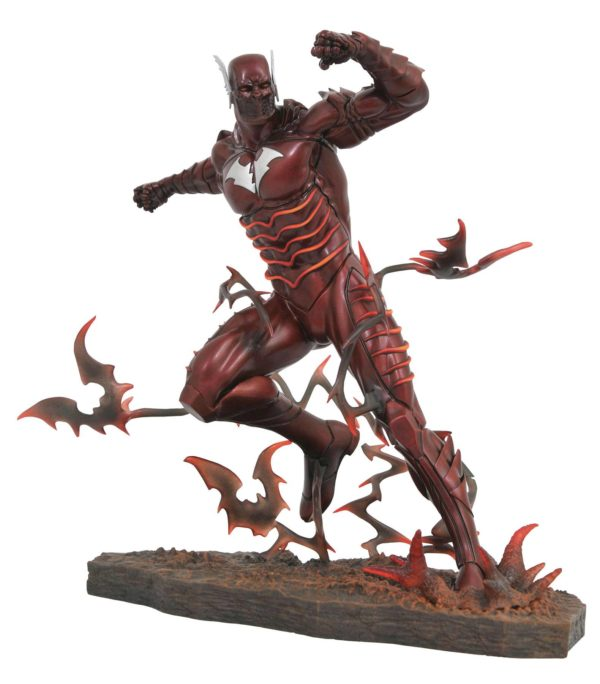 RED DEATH STATUE DARK NIGHTS METAL DC COMIC GALLERY DIAMOND SELECT TOYS 25 CM (1bis) 699788833988 kingdom-figurine.fr