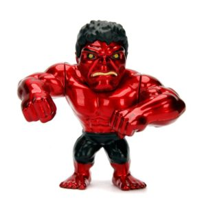 RED HULK FIGURINE MARVEL AVENGERS JADA METALFIGS M321 (1) 801310303467 kingdom-figurine.fr