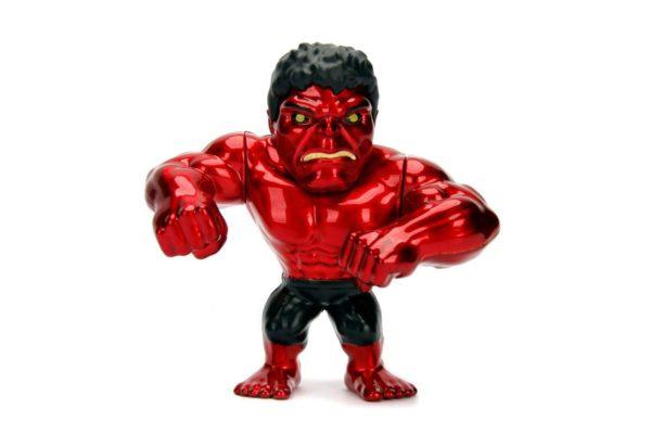 RED HULK FIGURINE MARVEL AVENGERS JADA METALFIGS M321 (1) 801310303467 kingdom-figurine.fr