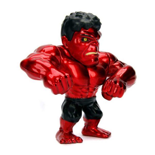 RED HULK FIGURINE MARVEL AVENGERS JADA METALFIGS M321 (2) 801310303467 kingdom-figurine.fr