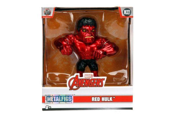 RED HULK FIGURINE MARVEL AVENGERS JADA METALFIGS M321 (3) 801310303467 kingdom-figurine.fr
