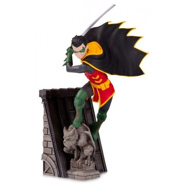 ROBIN STATUE BAT-FAMILY (PARTIE 3 SUR 5) DC COLLECTIBLES 15 CM (1) 761941356464 kingdom-figurine.fr