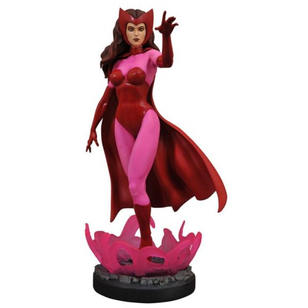 SCARLET WITCH STATUETTE MARVEL COMIC PREMIER COLLECTION DIAMOND SELECT TOYS 28 CM (1) 699788834381 kingdom-figurine.fr