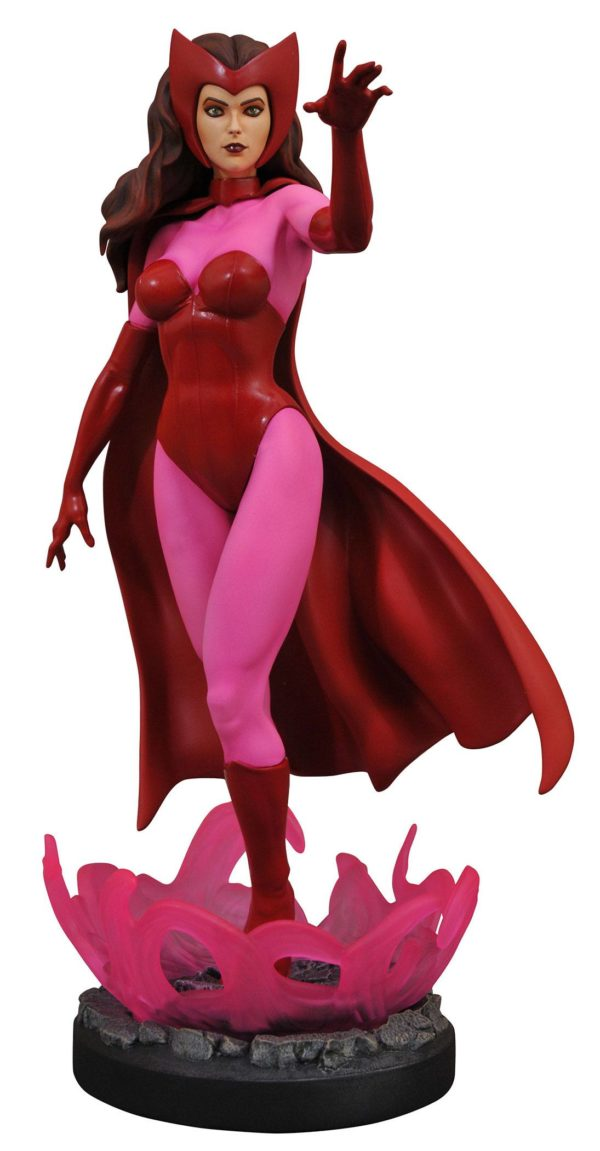 SCARLET WITCH STATUETTE MARVEL COMIC PREMIER COLLECTION DIAMOND SELECT TOYS 28 CM (1bis) 699788834381 kingdom-figurine.fr