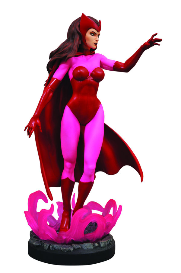 SCARLET WITCH STATUETTE MARVEL COMIC PREMIER COLLECTION DIAMOND SELECT TOYS 28 CM (2) 699788834381 kingdom-figurine.fr