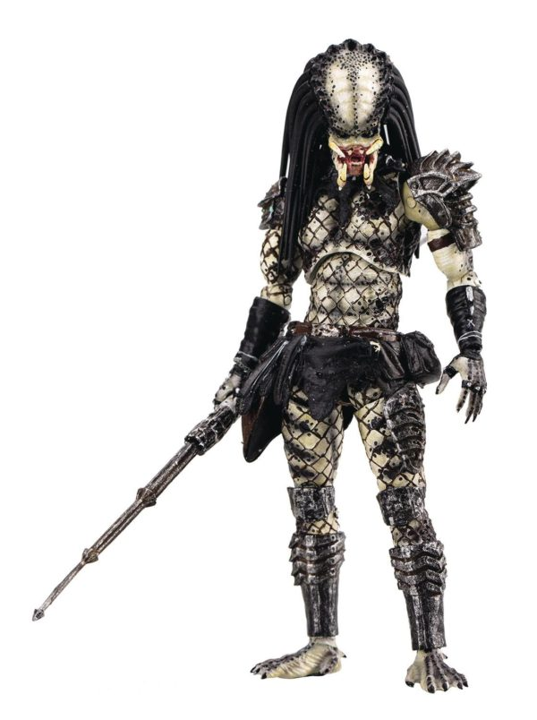 SHAMAN PREDATOR PREVIEWS EXCLUSIVE FIGURINE 1-18 PREDATOR 2 HIYA TOYS 11 CM (1bis) 6957534200335 kingdom-figurine.fr