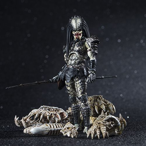 SHAMAN PREDATOR PREVIEWS EXCLUSIVE FIGURINE 1-18 PREDATOR 2 HIYA TOYS 11 CM (2) 6957534200335 kingdom-figurine.fr