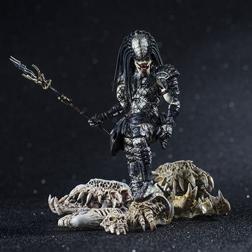SHAMAN PREDATOR PREVIEWS EXCLUSIVE FIGURINE 1-18 PREDATOR 2 HIYA TOYS 11 CM (3) 6957534200335 kingdom-figurine.fr