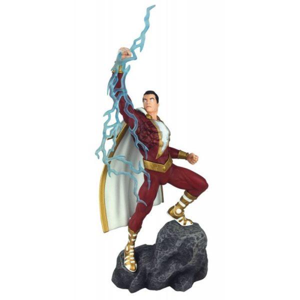 SHAZAM STATUE DC COMICS GALLERY DIAMOND SELECT TOYS 28 CM (1) 699788830697 kingdom-figurine.fr